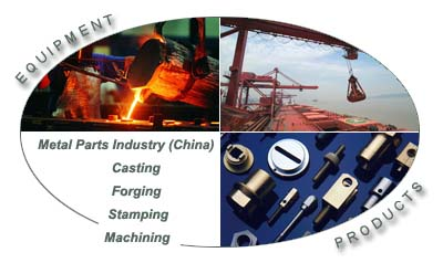 Manufacturer of custom metal parts used in furniture, automobile, machinery and architecture. Stamped, machined, casted and forged metal products are available.